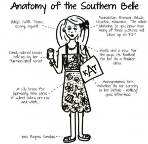 Anatomy of a Southern Belle