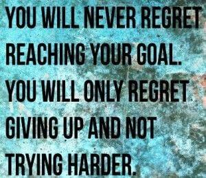 sayings-reaching goal
