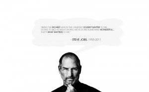 ... quotes monochrome steve jobs 1920x1200 wallpaper Technology Apple HD