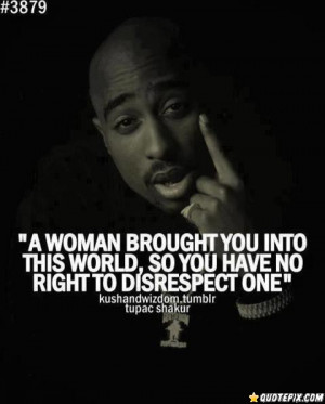 Respect Woman.