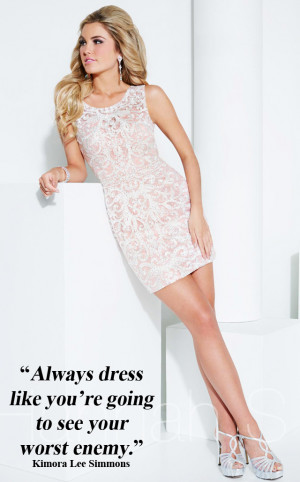 ... to find this gorgeous dress and look for a new quote next week