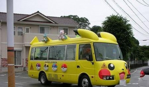 Pokemon Bus… I Choose You!