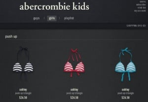 ... kids stores sold bathing suits that were too sexy for some people