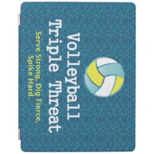 TOP Volleyball Triple Threat iPad Cover