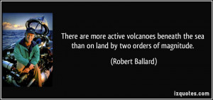 There are more active volcanoes beneath the sea than on land by two ...