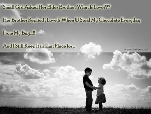 Cute Brother And Sister Relationship Quotes Brother and sister ...