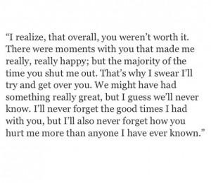 deserve better, quote, sad