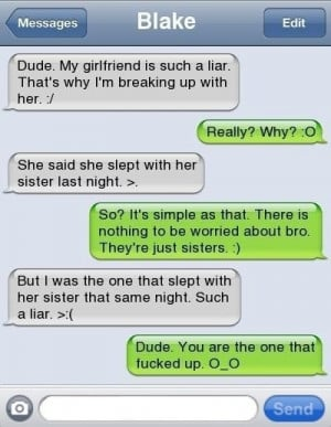 funny texts message - What? really bro?