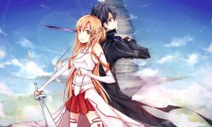 Sword Art Online   Kirito   Asuna   Aflheim Online   Anime   Wallpaper