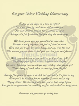 Anniversary Poems 40th Wedding Funny Pictures Kootation Com25th ...