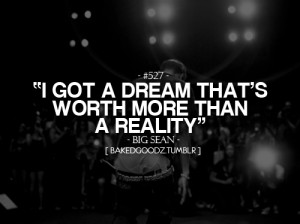 Big dreaming
