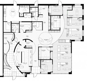 dentist office floor plans - Google SearchFloors Plans, Clinica Dental ...