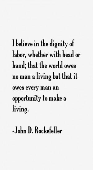 John D. Rockefeller Quotes & Sayings