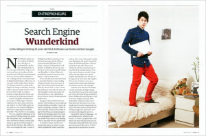 Jude Edginton photographed boy genius Nick D 39 Aloisio for the March ...