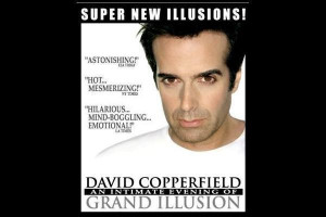David Copperfield illusionist Wallpaper