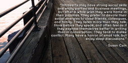 According to Carl Jung, introverts are people who derive energy from ...