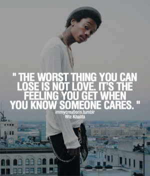The Worst Thing You Can Lose