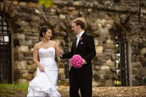 wai nick their wedding day larchmont ny