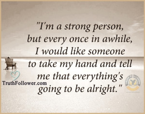 strong person, Quote and Sayings