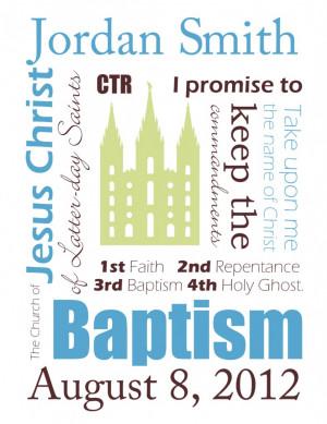 baptism lds subway art printable boy
