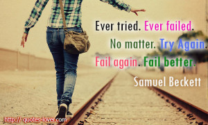 ... picture quotes fail picture quotes fail better picture quotes failure