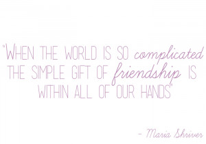 What My Mom Taught Me: The Gift of Friendship