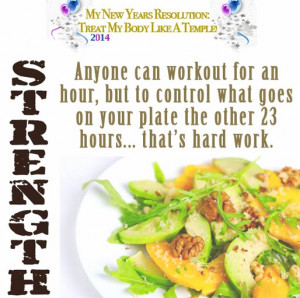 Home Food Diet And Exercise Quotes