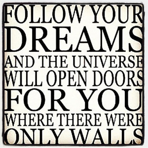 following your dreams quotes and sayings