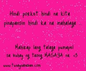 Sweet Tagalog Love Quotes #1