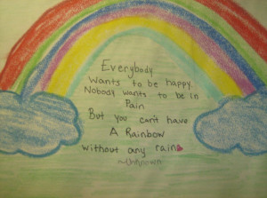 rainbow quote by LeXiElOvE12