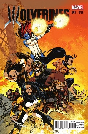 Comic Book: Wolverines