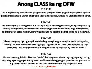 Ofw Quotes Anong Class