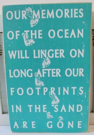 ... Wood Sign - Popular Beach Quotes Sayings - California Seashell Company