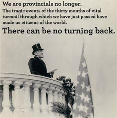 Woodrow Wilson's second Inaugural Address, March 4, 1917. Wilson ...