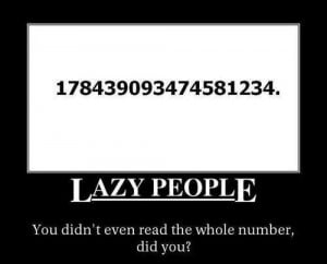 funny, lazy, missing, people, text, true, words