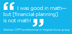 To make the financial planning profession and CFP® certification more ...