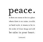 internal peace