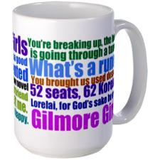 Gilmore Girls Quotes Large Mug for