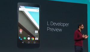 Google presenteert Android L en Android One op I/O screen shot 2014 06 ...
