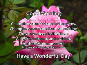 Good Morning Quotes for 12-05-2010