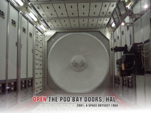 Open the pod bay doors, HAL.2001: A Space Odyssey, 1968