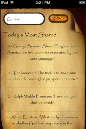 Download Most Shared Famous Quotes on Facebook and Twitter iPhone iPad ...