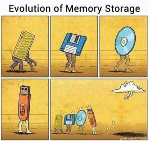 Evolution Of Memory Storage