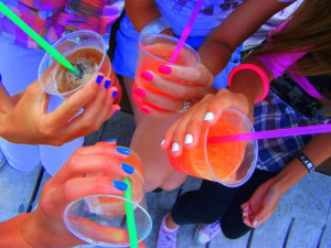 color, girls, love this, nails, summer