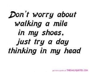 Don't Worry About.....