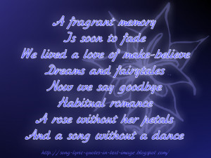 Someday - The Corrs Song Lyric Quote in Text Image