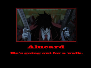 Hellsing Ultimate Abridged Alucard Quotes Hellsing Ultimate Abridged 3