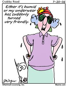 Maxine's outlook on humidity! More