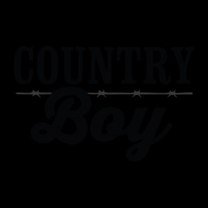 Country Boy Wall Quotes™ Decal