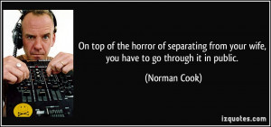 More Norman Cook Quotes